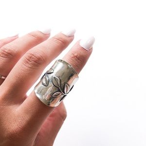 Jewelry - Handmade Israel Sterling Silver Ring